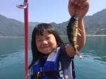 ファミリーフィッシング6月1日釣果は鱚・メバル・ベラ,釣りポイントは呉市の県民の浜近く