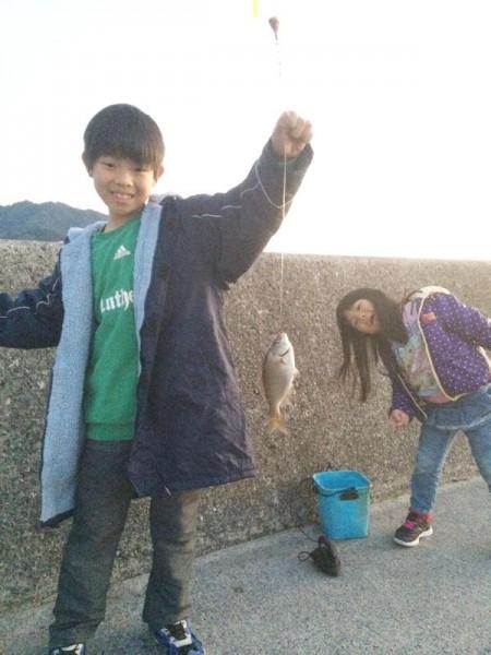 子供でも釣れるファミリーフィッシングと釣果-広島-15