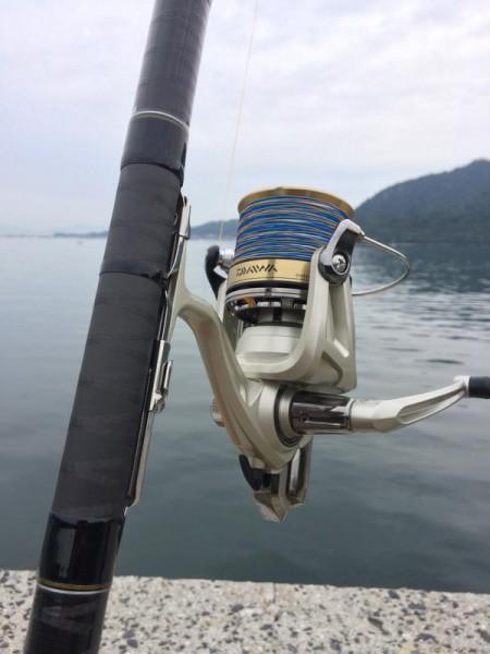 子供でも釣れるファミリーフィッシングと釣果-波止で鱚釣り9