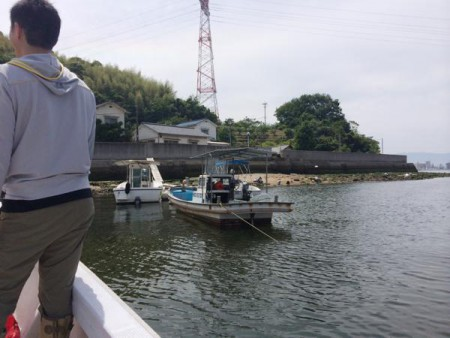 子供でも釣れるファミリーフィッシングと釣果-広島で潮干狩り3