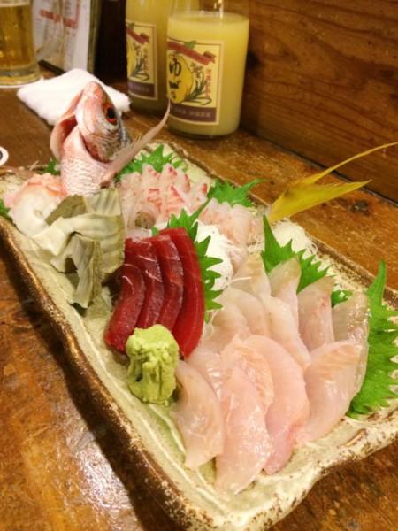 初心者でも爆釣-石垣島で釣った魚を居酒屋で調理4
