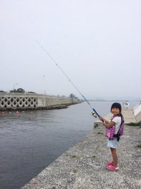 子供でも釣れるファミリーフィッシングと釣果-簡単なアジ釣り3